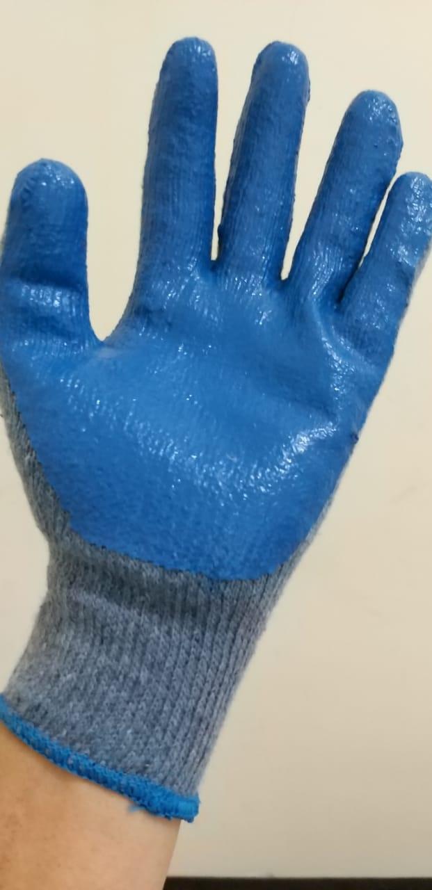 sarung tangan benang bahan latex